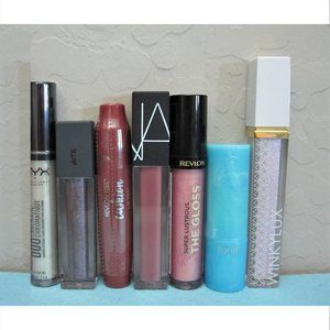 7 LIP RPODUCTS~ Nars, Bite Beauty, Tarte & More